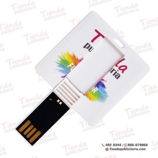 MEMORIA_ USB _ PUBLICITARIO_TARJETA CUADRADA_ TIENDA PUBLICITARIA