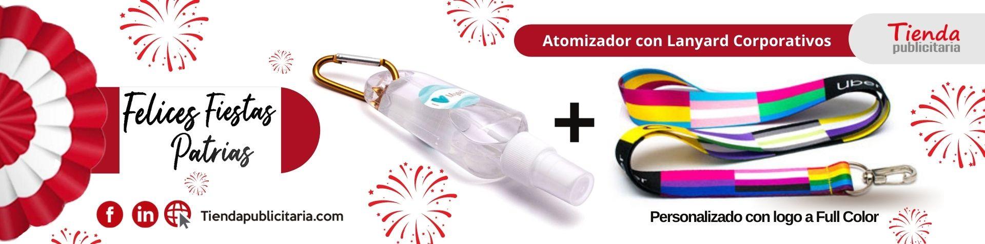 atomizador con lanyard